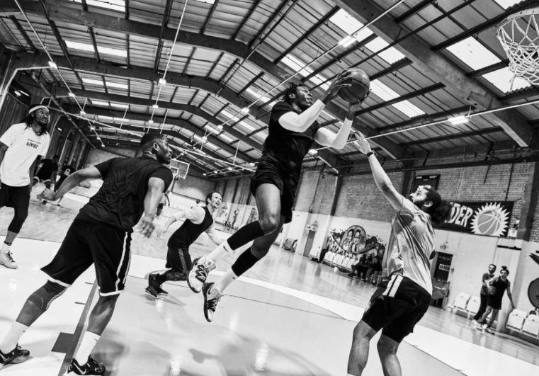 5 on 5 Thunderdome London Thunder Basketball