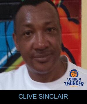 Coach Clive Sinclair