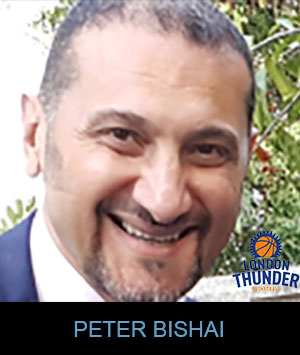 Coach Peter Bishai