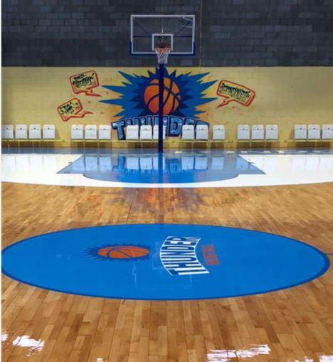 London Thunder New Basketball Court