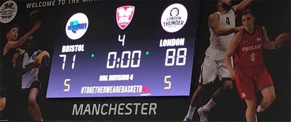 London Thunder Basketball England Fixtures