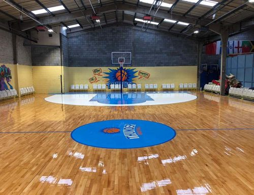 Brand New Basketball Courts