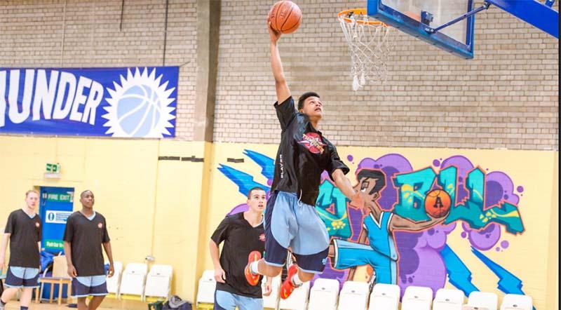 basketball is back london thunder basketball england