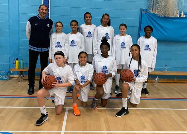 london thunder u14s girls team 2020 2021