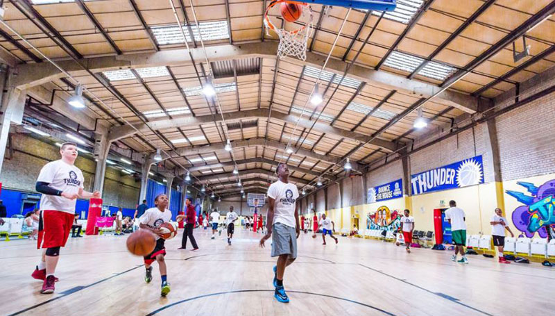 london thunder basketball camp half term